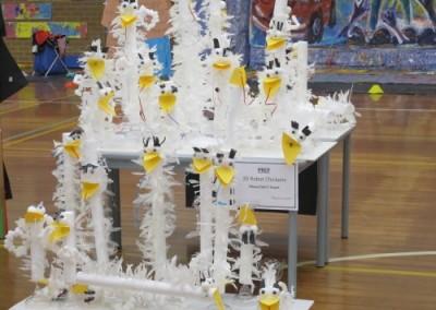 3D Robot Chickens