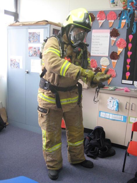 Fire Brigade Visit