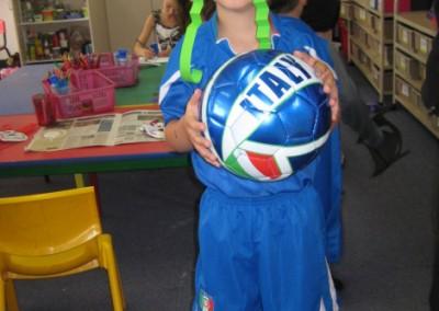 An Italian soccer player!