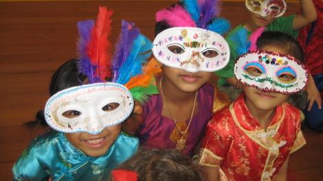 Italian masks!