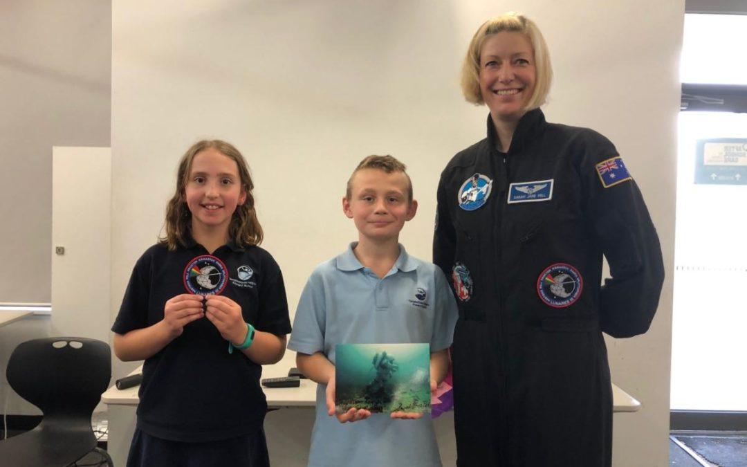 Astronaut Visit